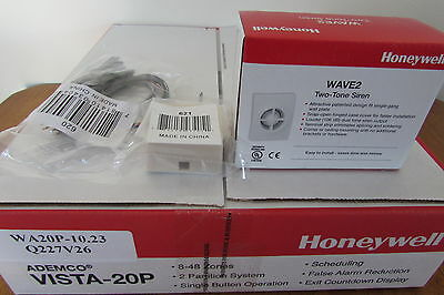 Ademco Honeywell V20P Vista 20P Alarm Panel V10.23 Sealed NIB - Free Ship