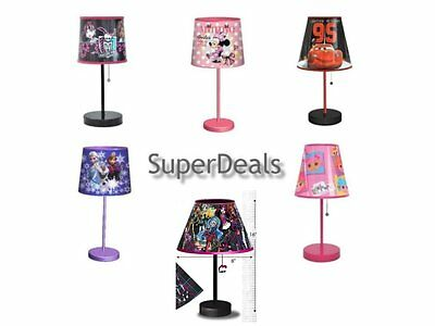 Disney and Mattel Character Stick Table Lamp - Kids Lighting