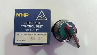 NHP NUUSC  Selector Switch Control Series 100 H for NEMA 1 or HO for oil tight