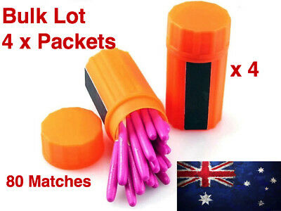 Survival Tool Windproof Waterproof Portable Matches For Camping Hiking Hunting