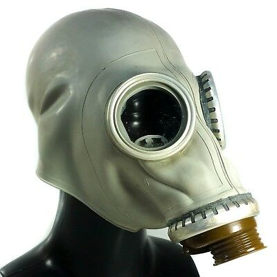 Soviet Civilian/Military  Gas Mask GP-5 grey rubber. Only new mask size - XSmall