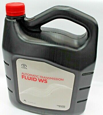 Toyota Auto Transmission Fluid 4L Tin Ws Atf Made In Japan New Genuine