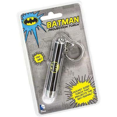 Batman - Bat Signal Projection Keychain Torch - New & Official DC Comics In Pack