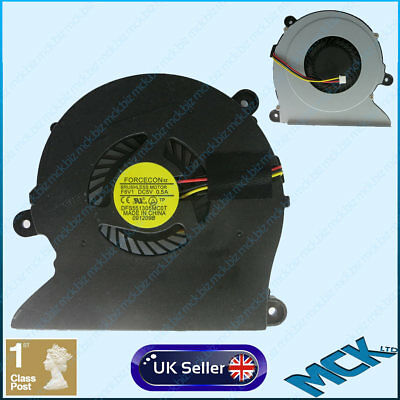 New Clevo M760 S410 Laptop CPU Cooling Fan DFB602205M30T F7N9 AB0805HX-TE3
