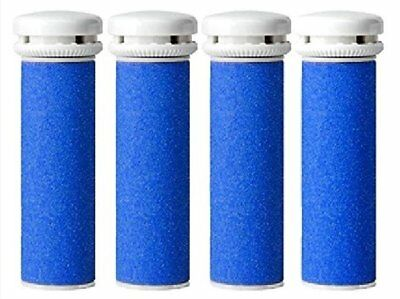 4 x Emjoi Micro Mineral Compatible Pedi Coarse Replacement Rollers