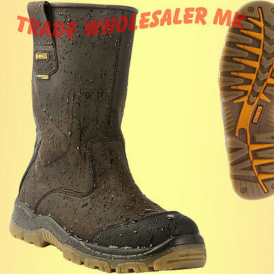 DeWALT Tungsten Weatherproof Rigger Safety Boots Latest Model Save £'s MSP £89