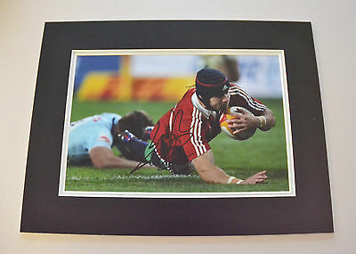 Leigh Halfpenny Signed 16x12 Photo Autograph Display Wales Rugby Memorabilia COA
