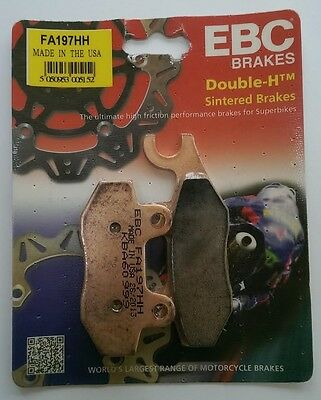 Kawasaki Ninja 300 (2013 to 2016) EBC Sintered FRONT Brake Pads (FA197HH) 1 Set