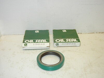 Lot Of 2 Chicago Rawhide / Cr 19848 New Oil Seals Cr19848