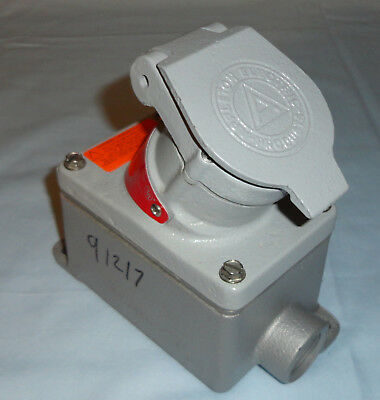 Appleton EFSCB175-2023M Explosion Proof Receptacle EFSCB1752023M 20A 2W3P NEW
