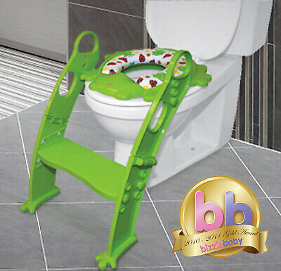 Karibu Premium Baby Bath Seat Support 360° with Strong Removable Front Bar Green