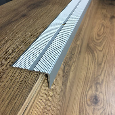 Anodised aluminium anti non slip stair edge nosing -trim- 40x20 mm