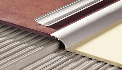 Aluminium Door Bars Threshold Strip Transition Trim Laminate Carpet Tiles