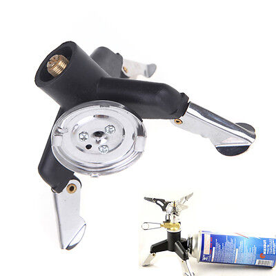 1pc Camping Cooking Adaptor Nozzle Gas Bottle Screwgate Stove Hiking Camp Stove