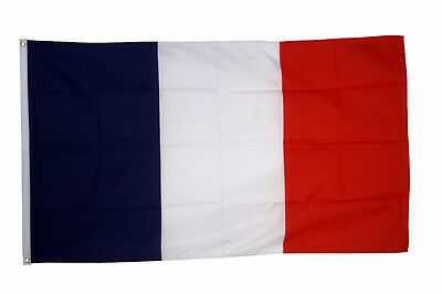 France Flag 3 x 2 FT  Country 100% Polyester National Europe Blue White Red