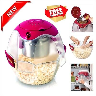 Popcorn Popper Machine Maker Electric Vintage Style Kitchen Hot 24 cup Party NEW