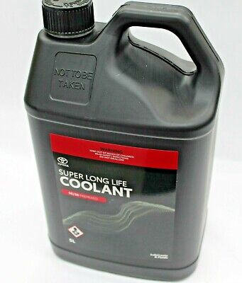 Toyota Super Long Life Coolant Anti Freeze Anti Boil 5L Bottle New Genuine