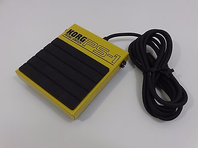 Korg PS-1 PS1 Pedal Switch Footswitch Japan Brand New F/S