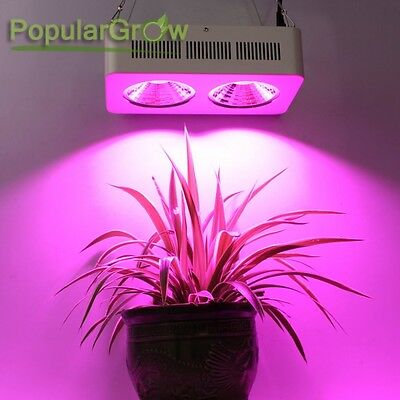 Populargrow COB 400W LED Grow Light 64x3w COB Chip For Commercial Cultivation