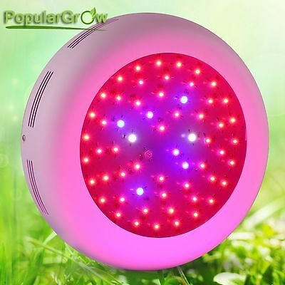 Populargrow Full Spectrum 138w  UFO Led Grow Light 3W Led For Indoor Plant Grow