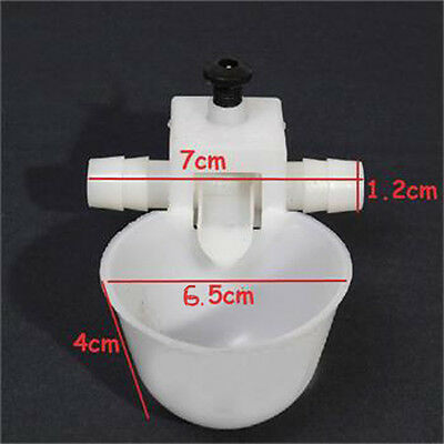 10pcs Drinking Chicken Bird Poultry Automatic Water Watering Cup Feeder