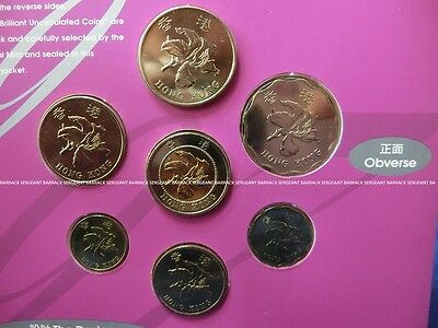 British Colonial Royal Hong Kong 1997 Brilliant Uncirculated Coin Set