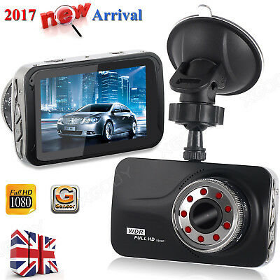 New 3.0'' HD 1080P Car Dashboard Camera Recorder Video DVR Vehicle Dash Cam HDMI