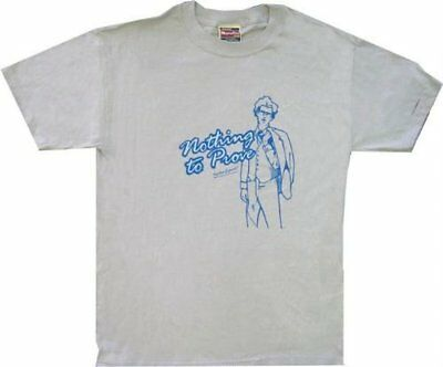 Adult Men's Napoleon Dynamite Movie Nothing To Prove Light Blue T-shirt Tee