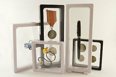 VISIO soft. 3D display frame for coins, badges, medalions, jewellery