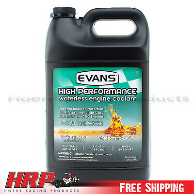 Evans Waterless Coolant-High Performance (1 Gallon w/ Funnel)-EC53001