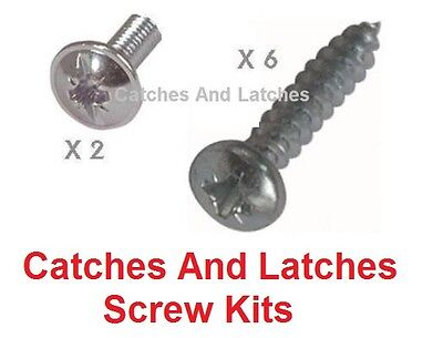 Screws for Grooved Drawer Runners 17mm or 27mm Range Screw Kit only