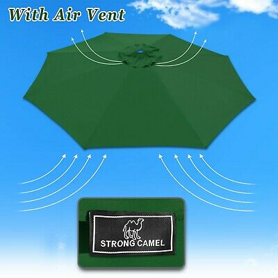 11.5ft 8 Rib Patio Umbrella Cover Canopy Replacement Top Outdoor