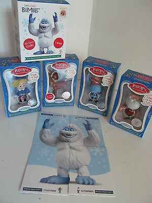 50th Anniversary Rudolph the Red Nosed Reindeer Limited Edition Collectible Set