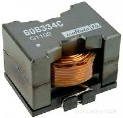 INDUCTOR, 100UH, 7.5A, SM POWER CORE Part # MURATA POWER SOLUTIONS 60B104C