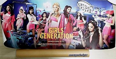 GIRLS' GENERATION SNSD 4th Mini Album Mr.Mr. Official POSTER in a TUBE+GiftPhoto