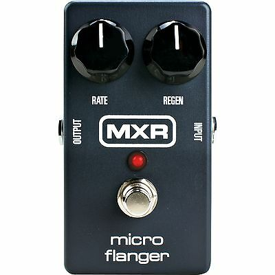 MXR M152 Micro Flanger Electric Guitar Effect Pedal - Brand New!