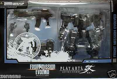 #NEW Zephyr Play Arts Kai Figure Square Enix FRONT MISSION EVOLVED