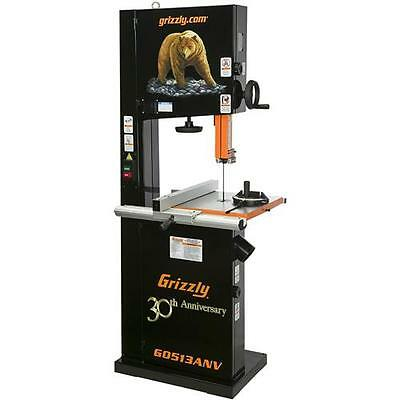 """G0513ANV Grizzly 17"""" 2 HP Bandsaw, Anniversary Edition"""