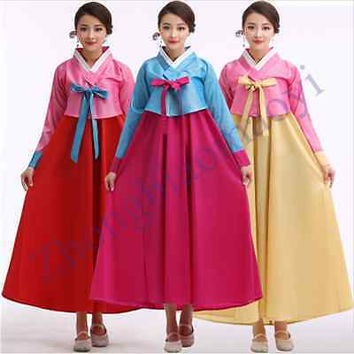 NEW Chic Korean Traditional Robe Hanbok Womens Dress Clothing Stage Clothing