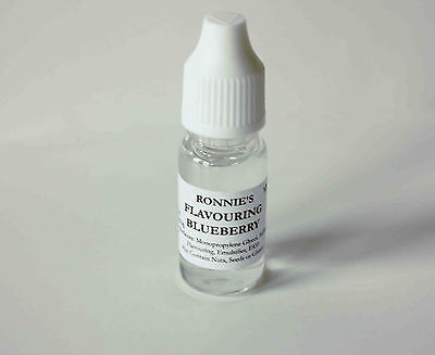 BLUEBERRY Flavouring, Edible Concentrated Liquid, Cake Baking, Icing, Drinks