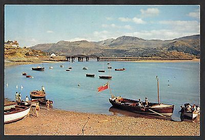 C. 1970s View of Barmouth harbour, Merionethshire, Wales
