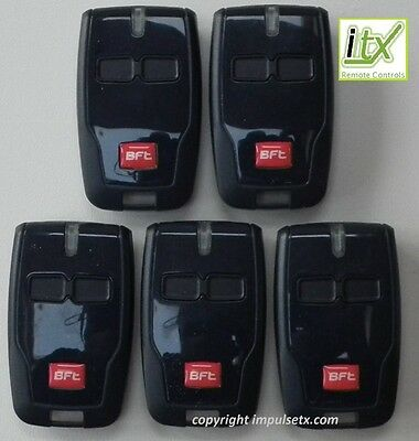 5 x BFT MITTO B2 Remote Control Multi User Value Pack