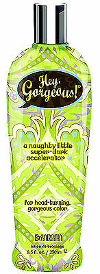 Synergy Tan HEY GORGEOUS Dark Accelerator+ 3 FREE GIFT & Fast Same Day Dispatch