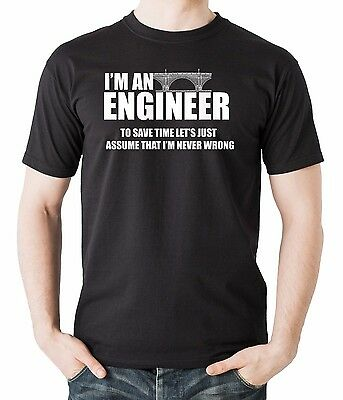 Gift For Engineer Tee Shirt I am An Engineer Funny Profession T-Shirt