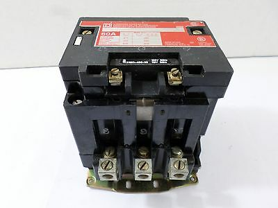Used Square D 8903SP02 Lighting Contactor Ser A 60A