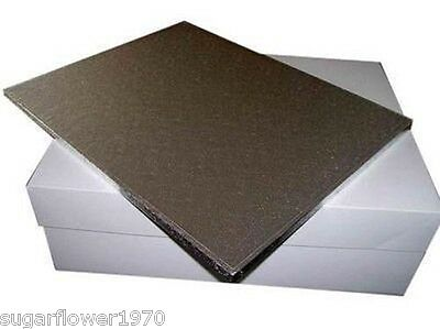 """18 x14 """" inch large oblong rectangle cake drum board and box FAST DESPATCH"""