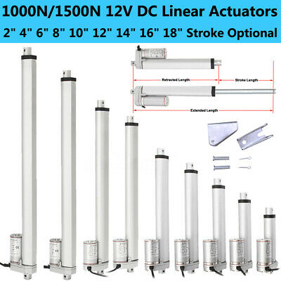 DC 12V 220lbs Linear Actuator Motor Multi-function for Electric Medical Auto Use