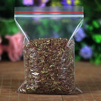 100 Small ZipLock Bag Self-closing Plastic Resealable Bag 4*6CM