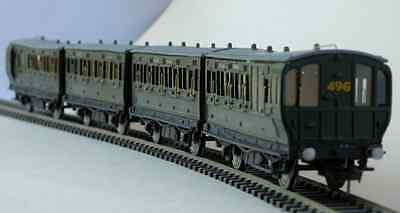 Complete set LBSCR Stroudley 4-wheel coaches IOW - Smallbrook Studio - free post