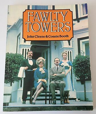 FAWLTY TOWERS John Cleese & Connie Booth - Scenes / Scripts 3 x episodes 1977